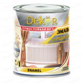 Эмаль ДЕКОР для радиаторов акриловая белая 0,8кг 45640