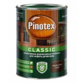 Pinotex Classic декоративно-защитная пропитка для древесины орех (1л)