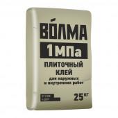 Клей для плитки Волма 1 МПа, 25 кг Особопрочный