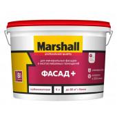 Marshall Фасад+ краска водно-дисперсионная для фасадных поверхностей глубокоматовая база BW (2,5л)