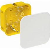 Коробка распределительная Schneider Electric 100x100x50 квадратная для монтажа в гипсокартон IP20