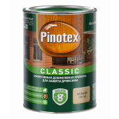 Pinotex Classic декоративно-защитная пропитка для древесины дуб (1л) 5195463