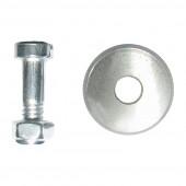 Запасной ролик Biber 55182 для плиткореза Суприм 18х6х3,8 мм