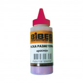 Краска разметочная Biber 43201 порошковая красная (0,115 кг)