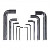 Набор инбусовых ключей Biber 90502 2-14 мм 10 шт.