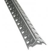 Профиль перфорированный углозащитный алюм. 20х20мм (3м)